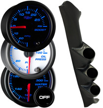 1997-2002 Ford F-150 Custom 7 Color Gauge Package Gallery