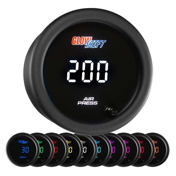10 Color Digital Air Pressure Gauge