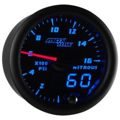 Black & Blue MaxTow 1,600 PSI Nitrous Pressure Gauge