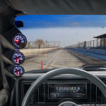 1978-1987 Pontiac Grand Prix Gauge Pod Installed