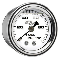 100 PSI Liquid Filled Mechanical Fuel Pressure Gauge