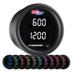 10 Color Digital Dual Pyrometer EGT Gauge