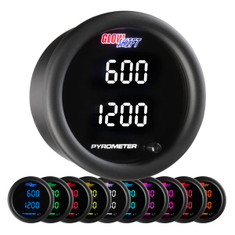 10 Color Digital Dual Pyrometer EGT Gauge