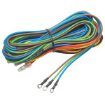 7 Color Series 4 Gauge Wiring Kit with Sensor & Power Wires