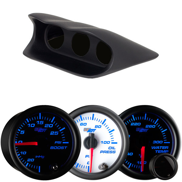Subaru Impreza Wrx Dash Color Gauge Package Thumb