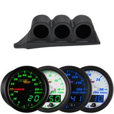 MaxTow Triple Dashboard Gauge Package for 1999-2007 Ford Super Duty Power Stroke