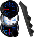 7 Color Series Triple Gauge Package for 1992 GMC Sonoma GT