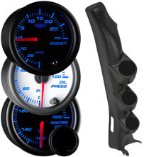 7 Color Series Triple Gauge Package for 1997-2004 Chevrolet Corvette