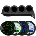 MaxTow Quad Dashboard Gauge Package for 1986-1993 Dodge Ram Cummins Thumb