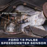16 Pulse Speedometer Sensor Adapter for Ford Tremec