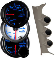 7 Color Series Triple Gauge Package for 2006-2010 Dodge Charger