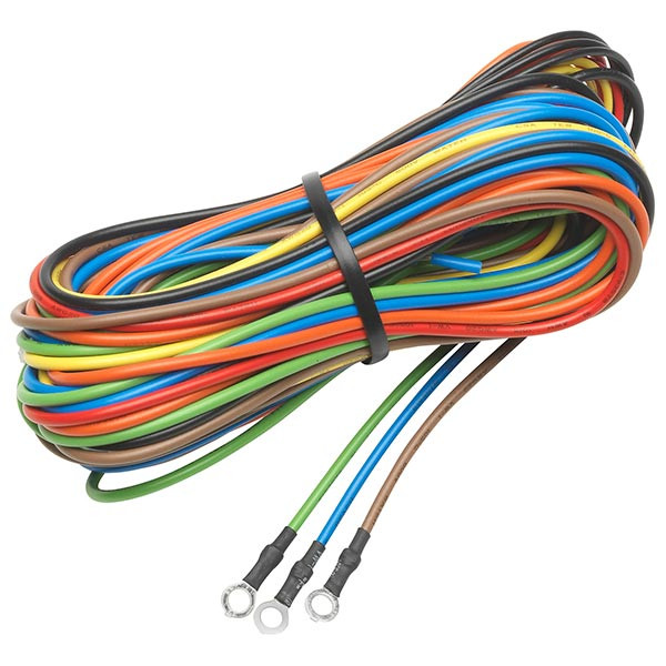 7 Color Series 2 Gauge Wiring Kit with Sensor & Power Wires on