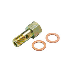 M12 x 1.25 Fuel Pressure Banjo Bolt Thread Adapter