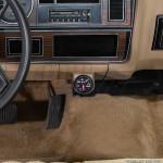 Universal Single Gauge Chrome Under Dashboard Mounting Bracket Pod Installed