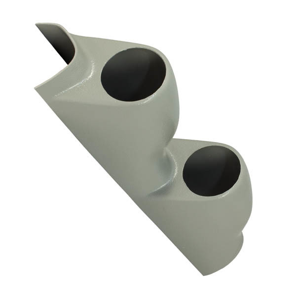 Gray Dual Pillar Gauge Pod for 1994-2001 Acura Integra