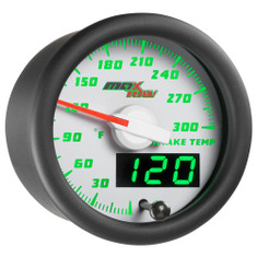 White & Green MaxTow Intake Temperature Gauge