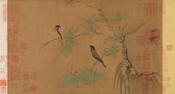 Finches and Bamboo, MetMuseum