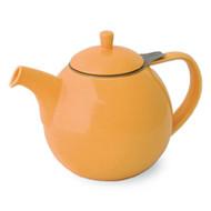 Curve Teapot 45 oz. - Mandarin