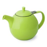 Curve Teapot 45 oz. - Lime