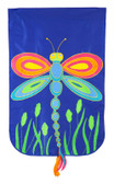 Dragonfly Applique Flag ( Regular)