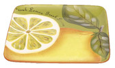 Square Lemon Plate