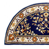Blue Rectangular Oriental Rug
