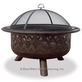 Bronze Outdoor Firepit