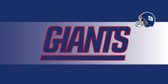 New York Giants Inset Mat