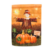 Pumpkin Patch For Sale Suede Garden Flag