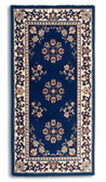 Oriental Blue Rectangular Hearth Rug