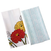 Zinnia Tea Towel Set