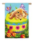 Bunny and Egg Flag