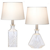 Etched Accent Lamp