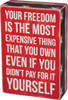 Your Freedom Box Sign
