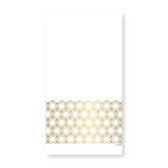 Prismatic Gold Dinner Napkin