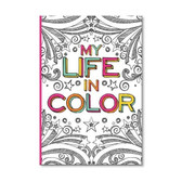 Dream In Color Coloring Journal
