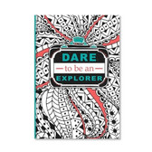 Explore Coloring Journal