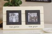 Girls/Guys Double Frame