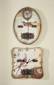 "13""L Square Clock with Calendar"