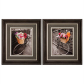 Basket of Flowers Print
