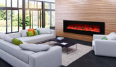 "72"" Electric Fireplace"