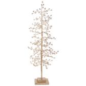 "21"" Glittered Tree with Jewels"