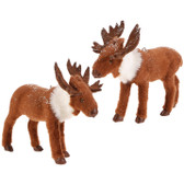 "4.5"" Small Moose Ornament 2 Asst"
