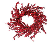 """26"""" Mixed Berry and Crabapple Wreath"""