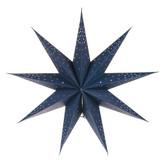 Indigo Star Hanging Pendant