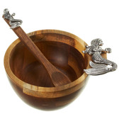 Mermaid Dip Bowl & Spoon set/2