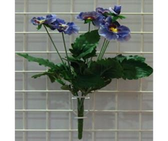 "12"" Pansy Bouquet"