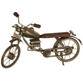 Antique Gold Motorcycle