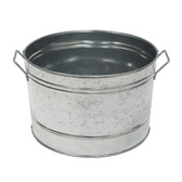 Round Galvanized Tub