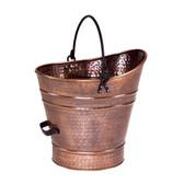 Small Copper Pellet Bucket